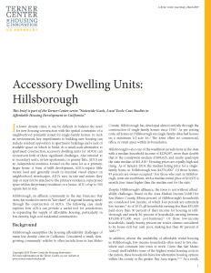 Accessory Dwelling Units Brief Cover Image