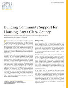 Building Community Support for Housing Brief Cover Page