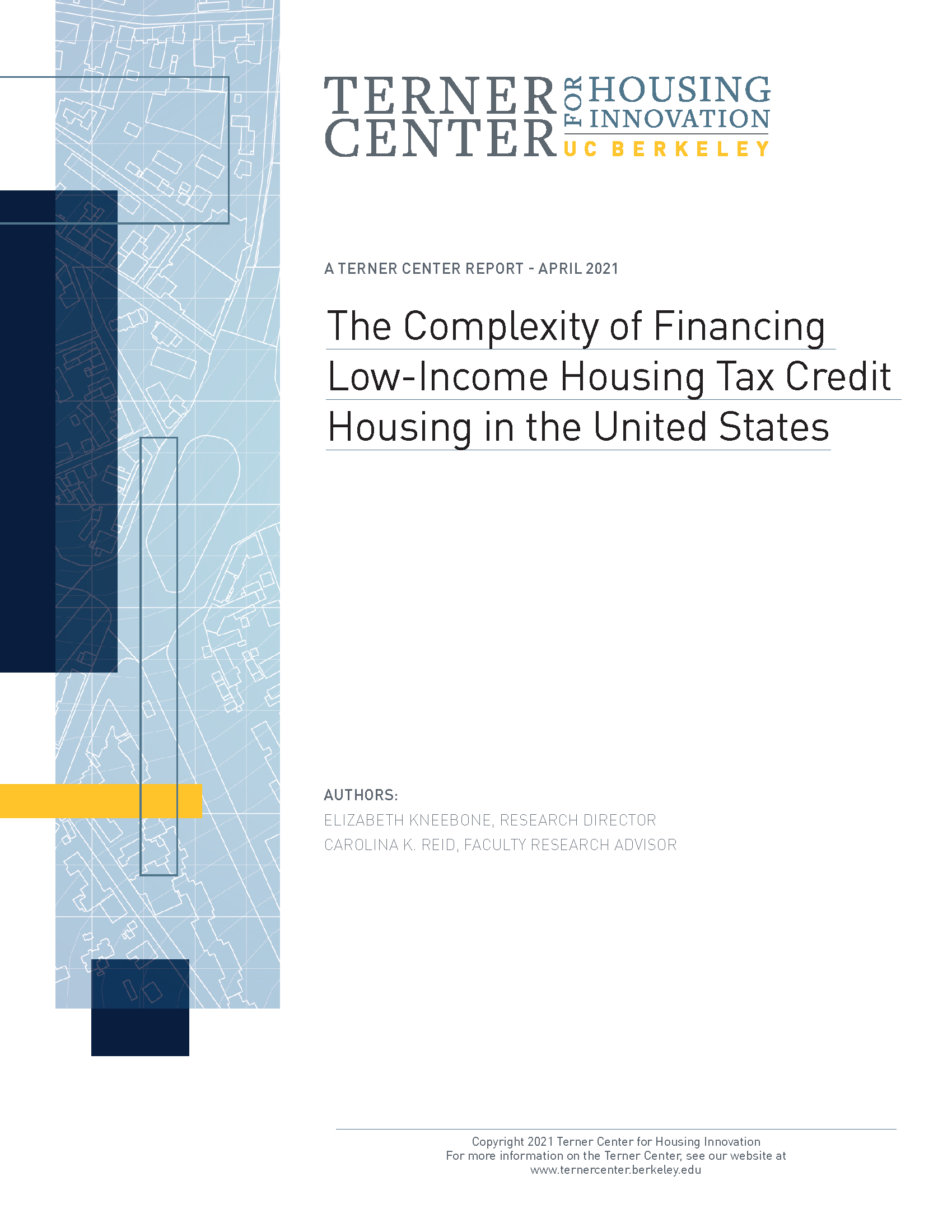 Terner Center Report - LIHTC Complexity